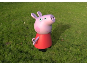 Front Side Peppa Pig