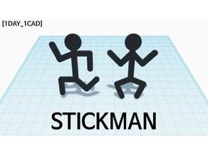 [1DAY_1CAD] STICKMAN