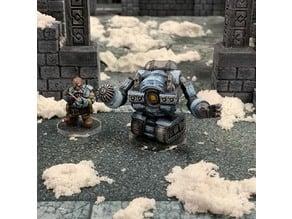 Dwarven Mining Robot (32mm scale)