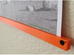 Clamp-on Poster Hanger