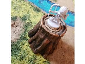 Fantasy Tree Stump - RPG - Scatter Terrain