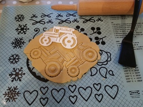 Detailed Tractor Cookiecutter