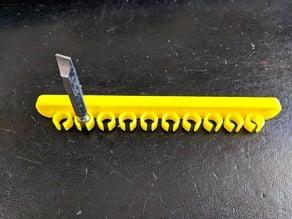 hex bit organizer - screw mount