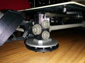 Remixed Prusa i3 MK2 Isolation Feet