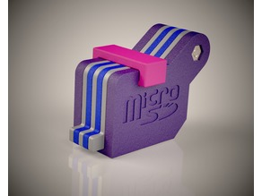 SD and Micro SD Card Holder