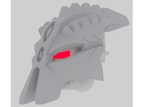 Kanohi Crast, Great Mask of Repulsion (Makuta Variant)