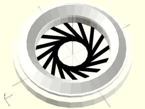 Adafruit NeoPixel Goggles dualstrusion lenses