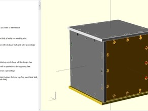 Parametric Box maker