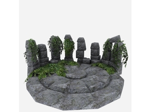 Speaking Stones (and Well) - OpenGameArt - Terrain
