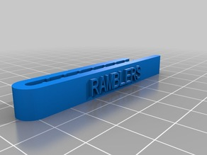 RAMBLERS Tie Clip