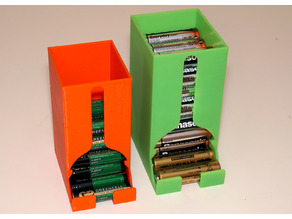 Battery Dispenser Box for AA and AAA batteries