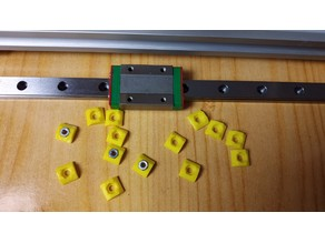 MGN12H clamping V-slot