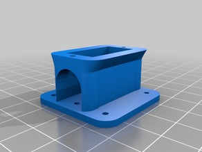 Micro Servo Mount for flat surface