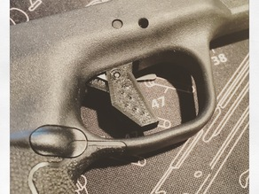 M&P Shield 9/40 Flat trigger without Safety