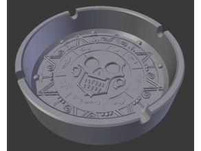 Ashtray Pirates of The Caribbean Coin