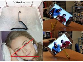 Z-Clip bedtime good angle phone holder