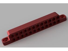 Mountable Cable Sleeving Comb
