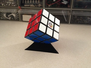 Rubik's Cube Puzzle Stand