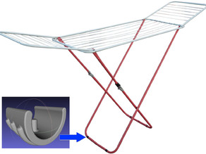 clothes airer fixing