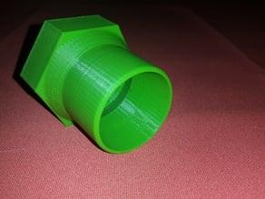 Raccord aspirateur piscine femelle 49 mm vers 40mm