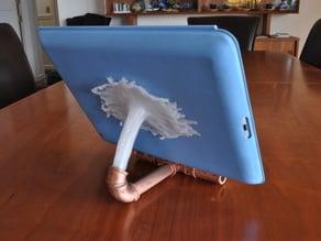 Splashy iPad stand