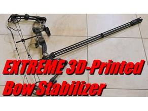 Extreme Bow Stabilizer V2 - Customizable!