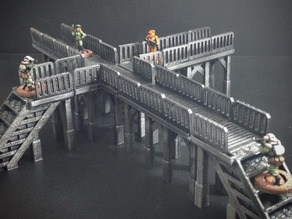 Modular Tech Catwalk (15mm scale)