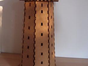 laser cut - lighthouse