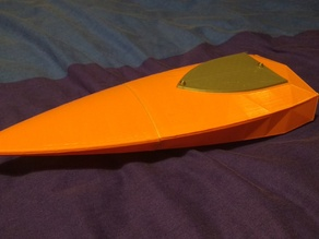 3DRC RC Jet Boat Prototype
