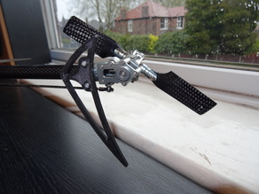 450 RC Helicopter stabiliser