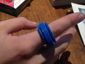 Fidget Ring - Print in Place