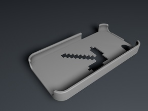 minecraft pickaxe iphone 4/ 4s case