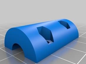 Parametric Coupler for Z-Axis Rod -  Nema 17 Motor