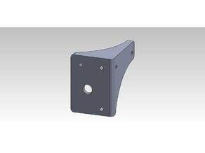 Anycubic i3 mega horizontal extruder support