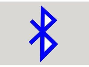 Bluetooth | Logo | DXF | SKP