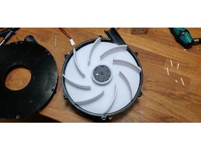 Bowden Tube Blower Extruder Cooling
