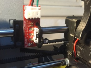 Endstop mount for 8mm axis