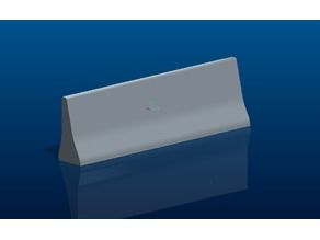 Concrete Guide Wall 250mm - 1:14