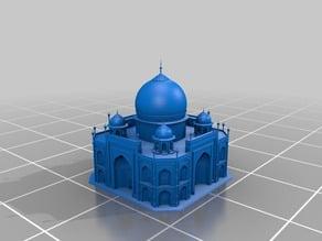 The stunning Taj Mahal