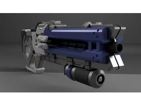 Soldier 76 gun (Overwatch)