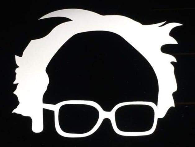 Decal Minimalist Bernie Sanders By R0b0genius Thingiverse