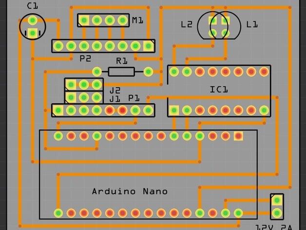 Control de servo con Arduino y potencimetro - YoMaker