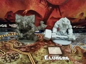 Mystic Troll mini, proxy for Blood Rage Kickstarter Exclusive
