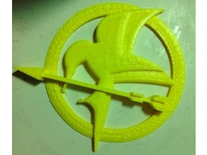 Hunger Games Mocking Jay Pin