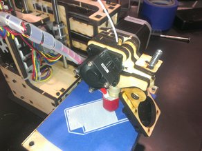 Extruder Fan Mount for Printrbot Simple
