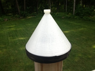 Solar Powered Water Purification Cone