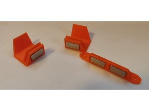 Doorknob for 10x20x2 mm magnets