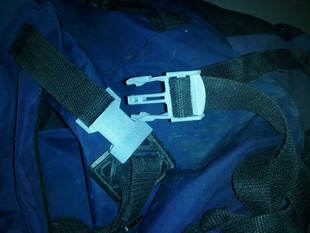 Backpack replacement Clip for 25mm band