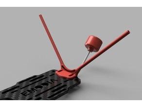 VTX and RX antenna V-mount for DiA UAM