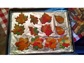 Leaf Cookie Cutter Set